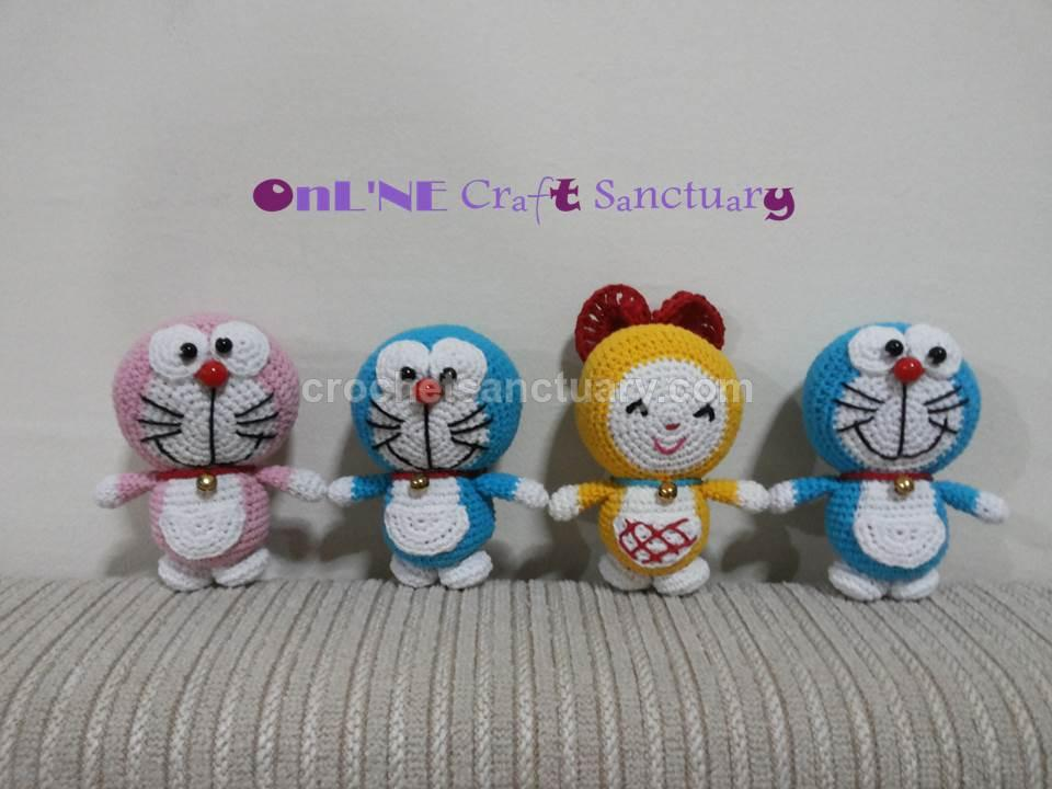 Amigurumi Doraemon Pattern : My creation amigurumi doraemon u crochetsanctuary